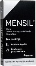 Mensil 25mg 4 tabl.