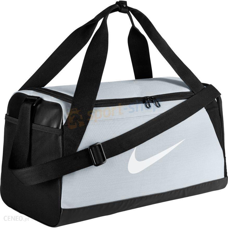 c15f6deed38ec Torba NK Brasilia 6 S 38L Duffel Nike (szara) - Ceny i opinie - Ceneo.pl