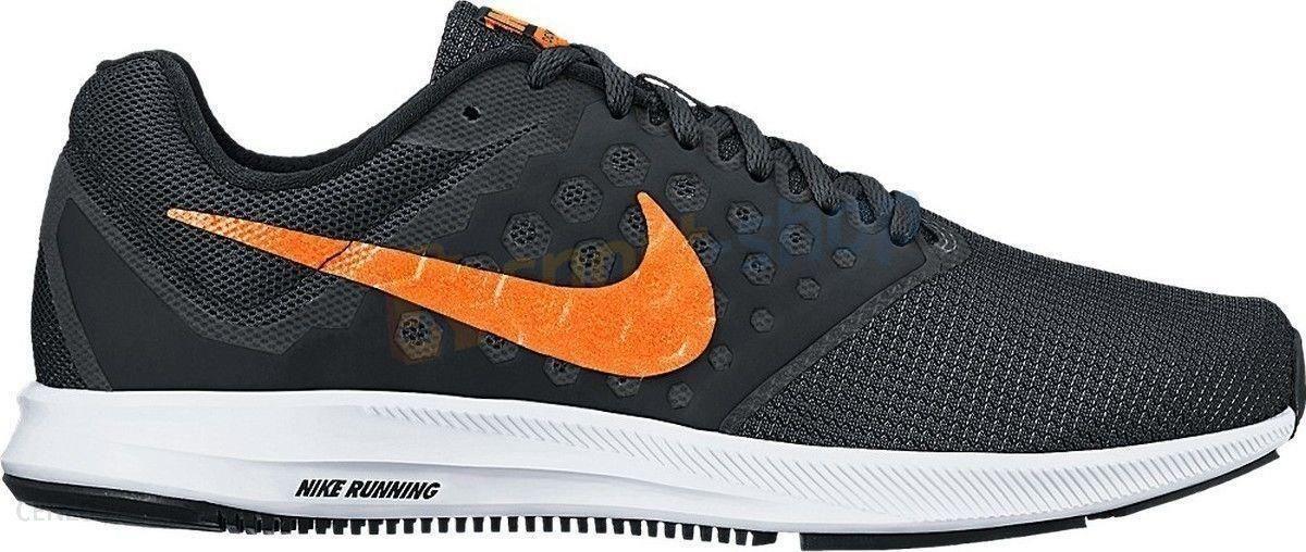 Buty męskie Downshifter 7 Nike (czarno pomarańczowe)