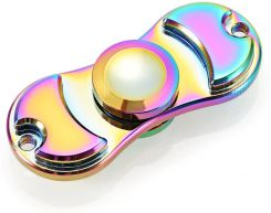 Colorful Two-leaf Zinc Alloy ADHD Fidget Spinner - zdjęcie 1