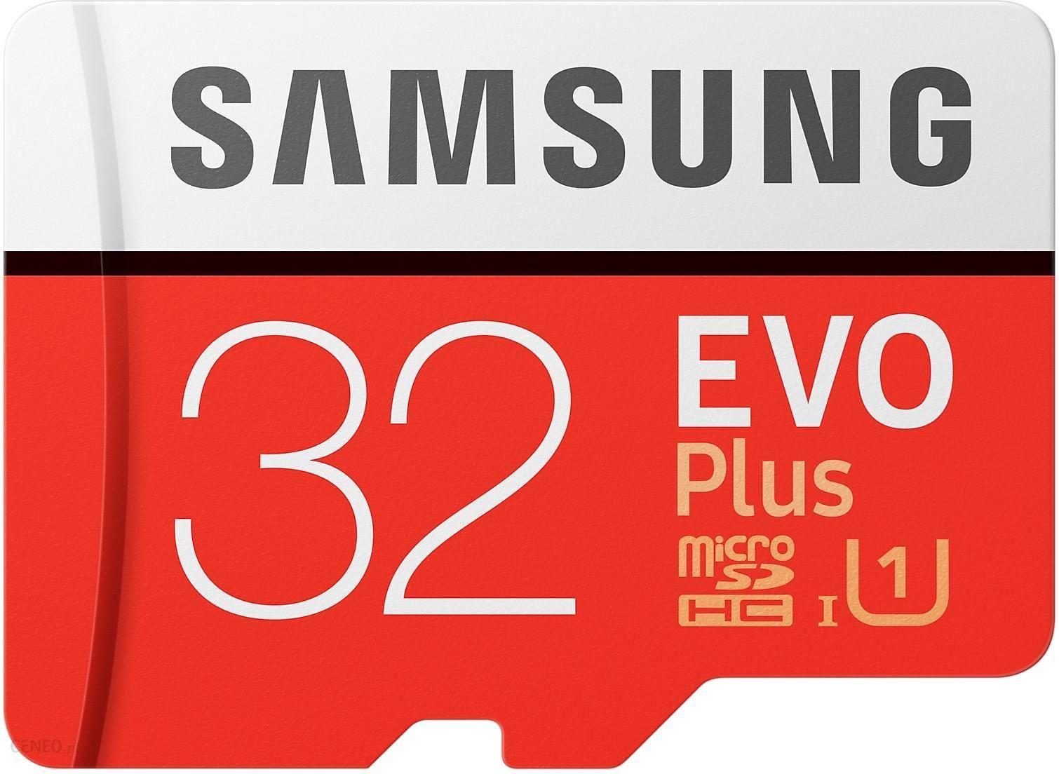 Karta pamięci do aparatu Samsung EVO PLUS microSDHC 32GB UHS-I U1 (MB- ...