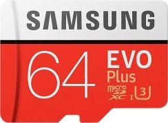 Samsung EVO PLUS microSDXC 64GB UHS-I U3 (MB-MC64GA/EU)