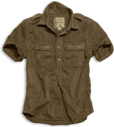 d2371bd84 Koszula SURPLUS RAW VINTAGE SHIRT - Brown (06-3590-05)