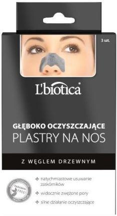 Lbiotica Gleboko Oczyszczajace Plastry Na Nos Z Weglem Drzewnym 3 Sztuki Opinie I Ceny Na Ceneo Pl