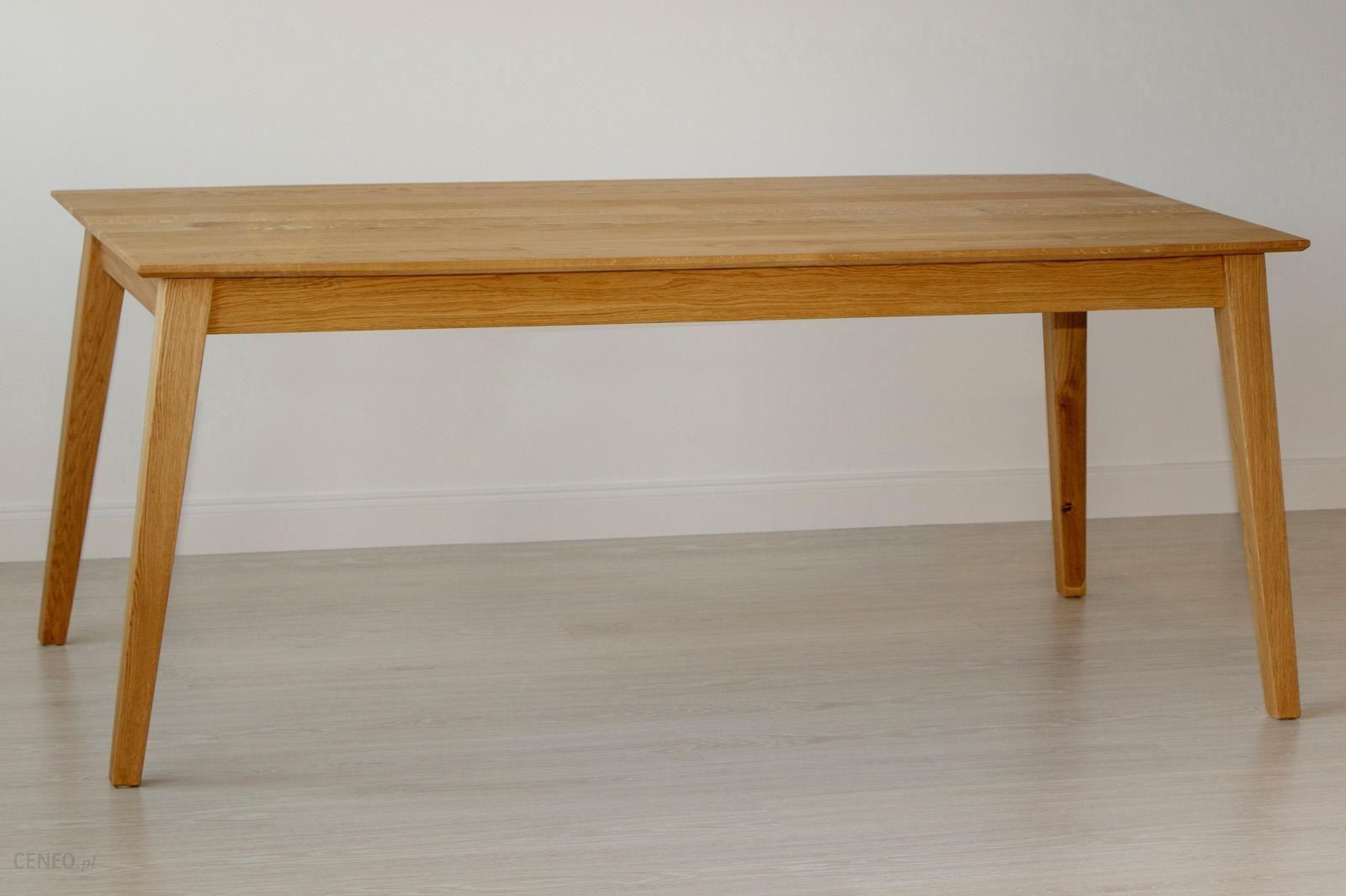 Woodica Stół Dębowy Modern U 05 180x75x90 Opinie I Atrakcyjne Ceny