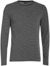 Brave Soul Men's Mosley Long Sleeve Top - Dark Charcoal Marl - S