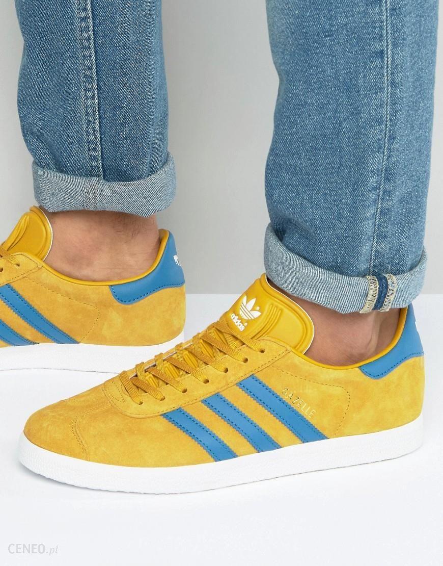 Adidas Originals Gazelle Trainers In Yellow BB5258 Yellow Ceneo.pl