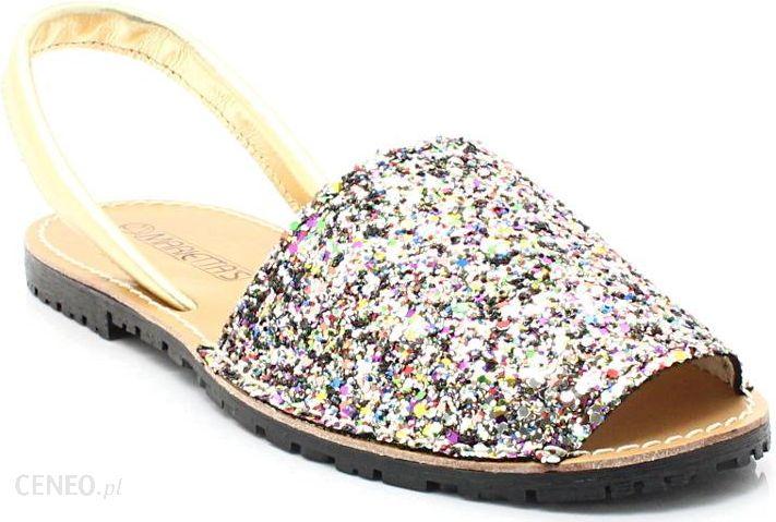MARIETTAS 550 MULTIKOLOR Hiszpańskie skórzane sandały minorki