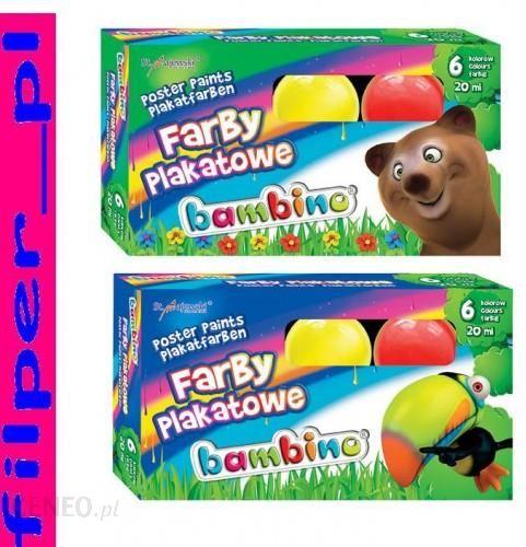 St Majewski Farby Plakatowe Bambino 6 Kolorow Ceny I Opinie