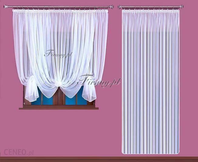 Firanypl M119 Komplet Do Okna Drzwi Balkonowych 400x160 I 200x250 Opinie I Atrakcyjne Ceny Na Ceneopl
