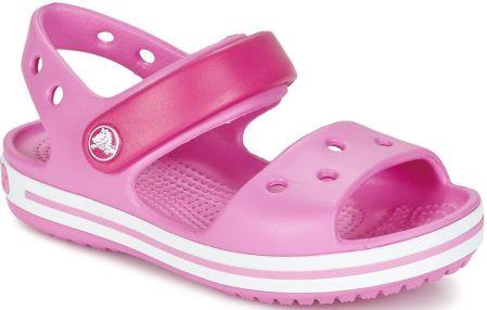 Sandały Crocs Crocband Jr 12856 zielono różowe 28 29 Ceny