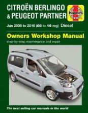 Citroen Berlingo & Peugeot Partner Diesel (June 08 - 16) 08 to 16 Haynes Repair Manual
