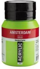 Amsterdam Farba Akrylowa 500 Ml Zielony Zoltawy Ceny I Opinie