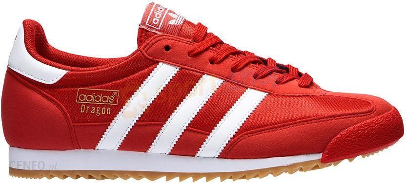 buty adidas originals czerwone