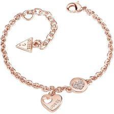 3cb83848f17f3 Guess Heart Devotion Bracelet Ubb82059-L - Ceny i opinie - Ceneo.pl