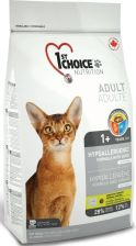 1st Choice Cat Adult Hypoallergenic 2X5,44kg