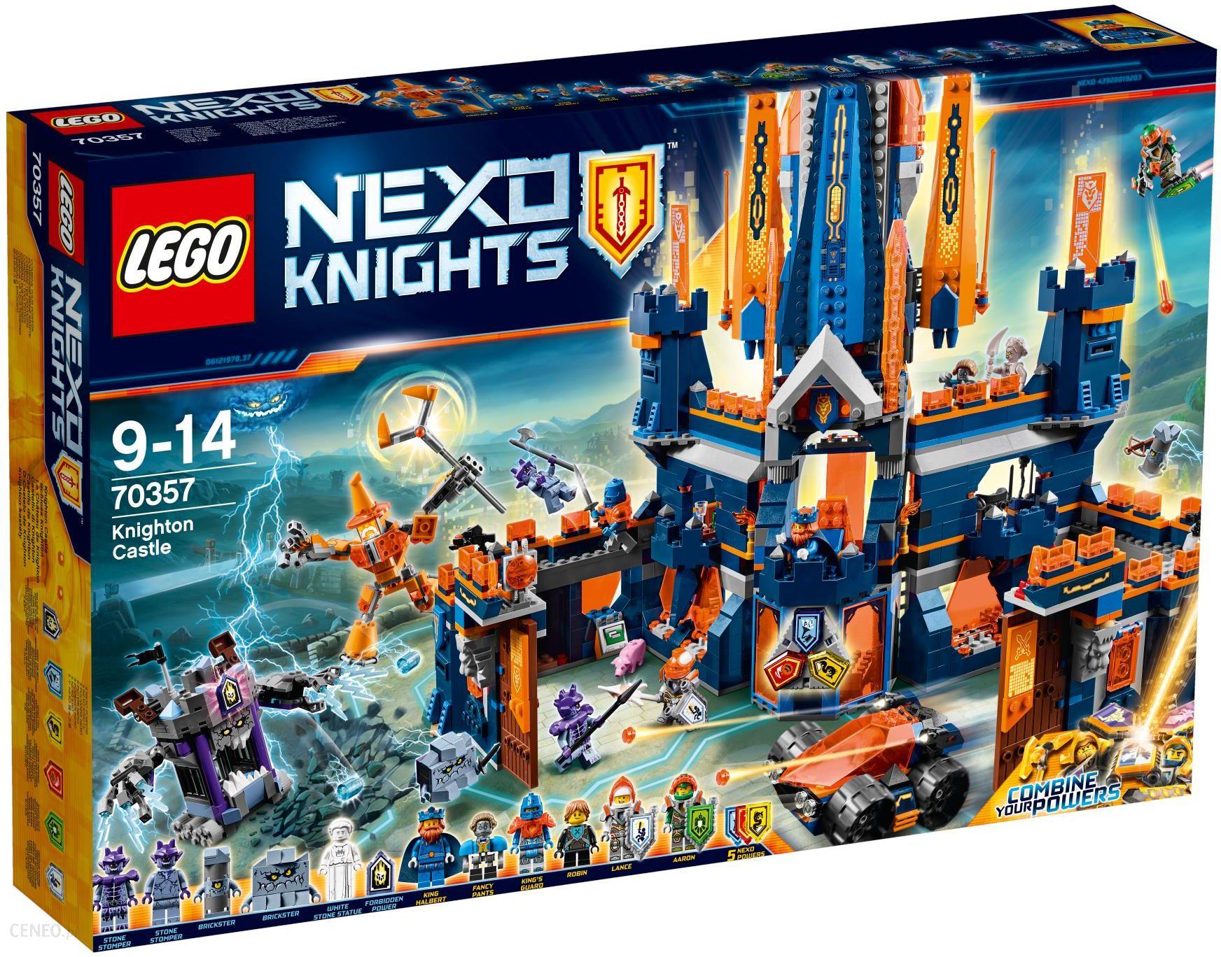 Klocki Lego Nexo Knights Zamek Knighton 70357 Ceny I Opinie