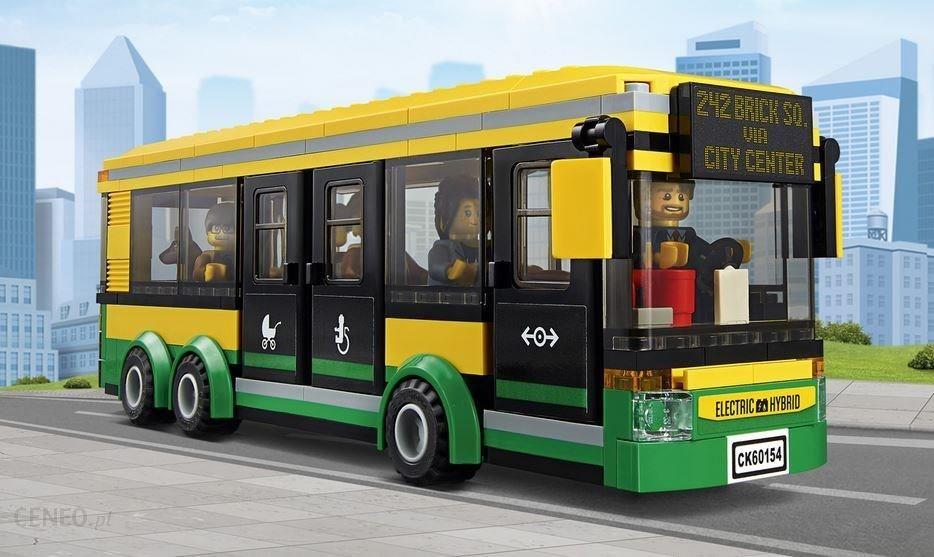 Klocki Lego City Town Przystanek Autobusowy 60154 Ceny I Opinie