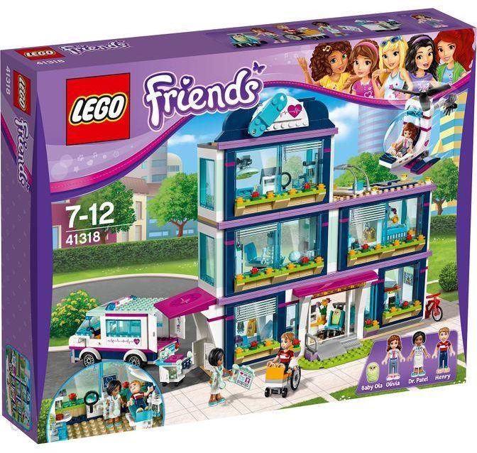 Klocki Lego Friends Szpital W Heartlake 41318 Ceny I Opinie