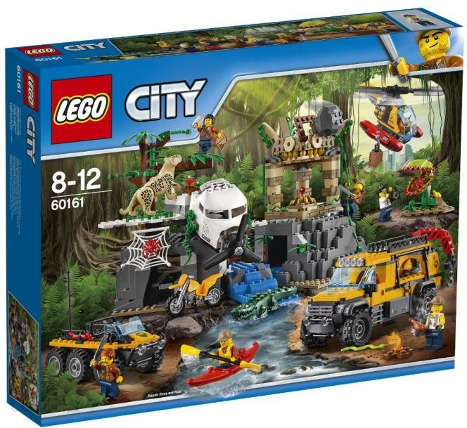 Klocki Lego City Jungle Explorers Baza W Dżungli 60161 Ceny I