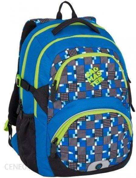 4ff4c77a55efd Bagmaster Plecak Theory 7 D Blue Green - Ceny i opinie - Ceneo.pl