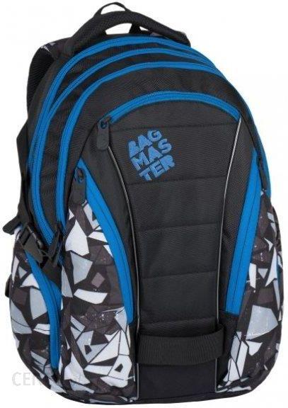 7e2fc309f21cf Bagmaster Plecak Bag 7 H Black Grey Blue - Ceny i opinie - Ceneo.pl
