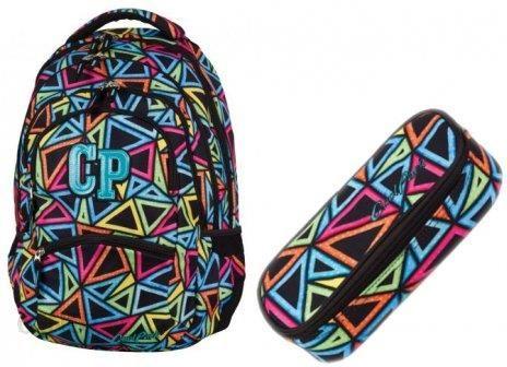 def6ef21ef8fe Patio Zestaw Coolpack Plecak Piórnik 2W1 Color College - Ceny i ...