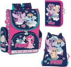 df70ba95b5443 St.Majewski Zestaw Tornister Piórnik + Worek My Little Pony Różowy
