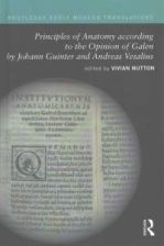 Principles Of Anatomy According To The Opinion Of Galen By Johann Guinter And Andreas Vesalius