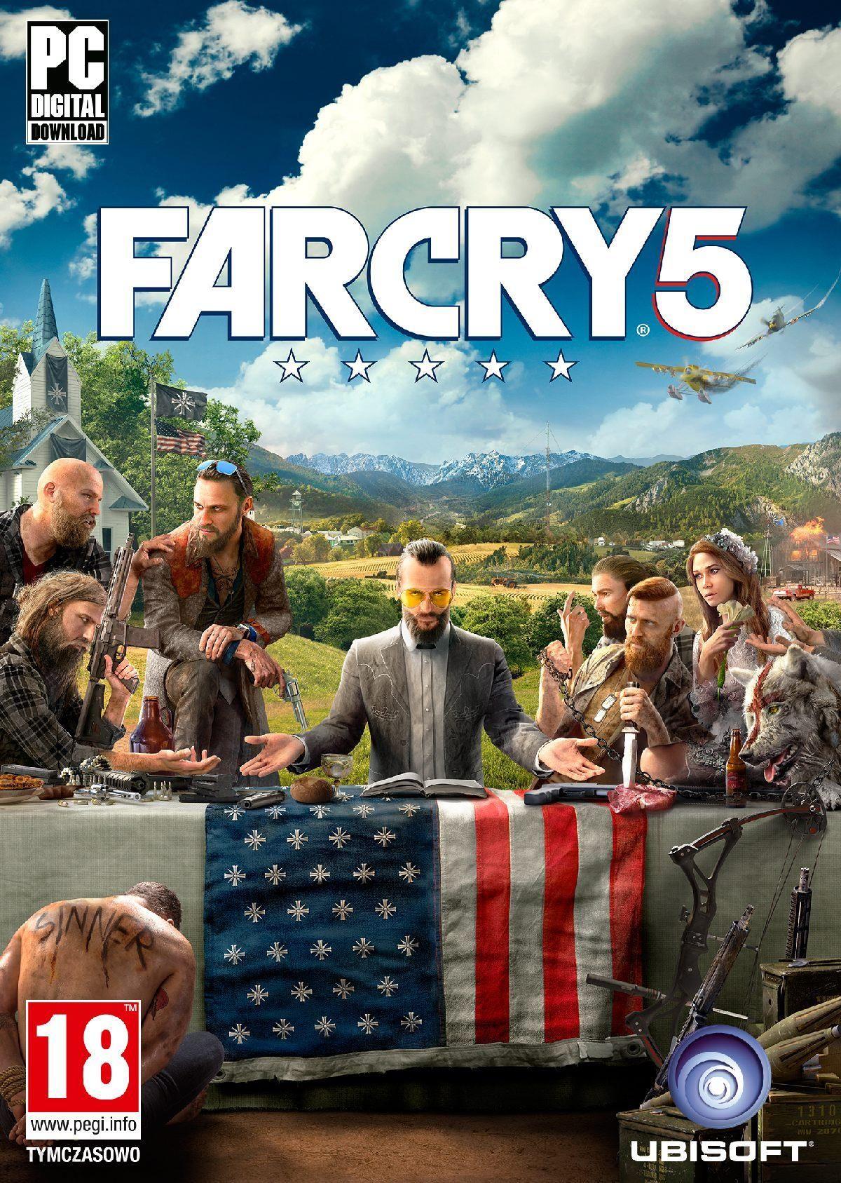 a19d8b1711dce6 Gra na PC Far Cry 5 (Gra PC) - zdjęcie 1