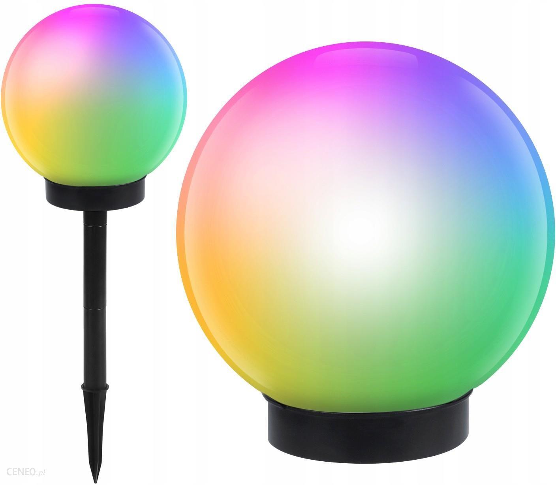 GreenBlue Solarna lampa ogrodowa kula LED GB124 kolor