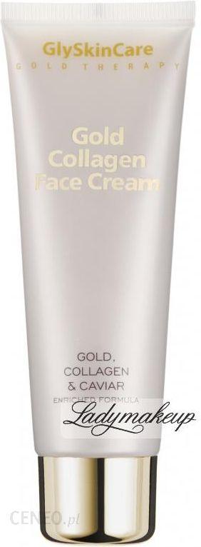 Krem Do Twarzy Glyskincare Gold Collagen Face Cream Kolagenowy Krem Do Twarzy Ze Zlotem Opinie I Ceny Na Ceneo Pl