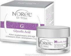 Krem do twarzy NOREL Dr Wilsz - Glycolic Acid - Krem wygładzający anti-age z kwasami AHA i ekstraktem z irysa 35+ (50ml) - Opinie i ceny na Ceneo.pl