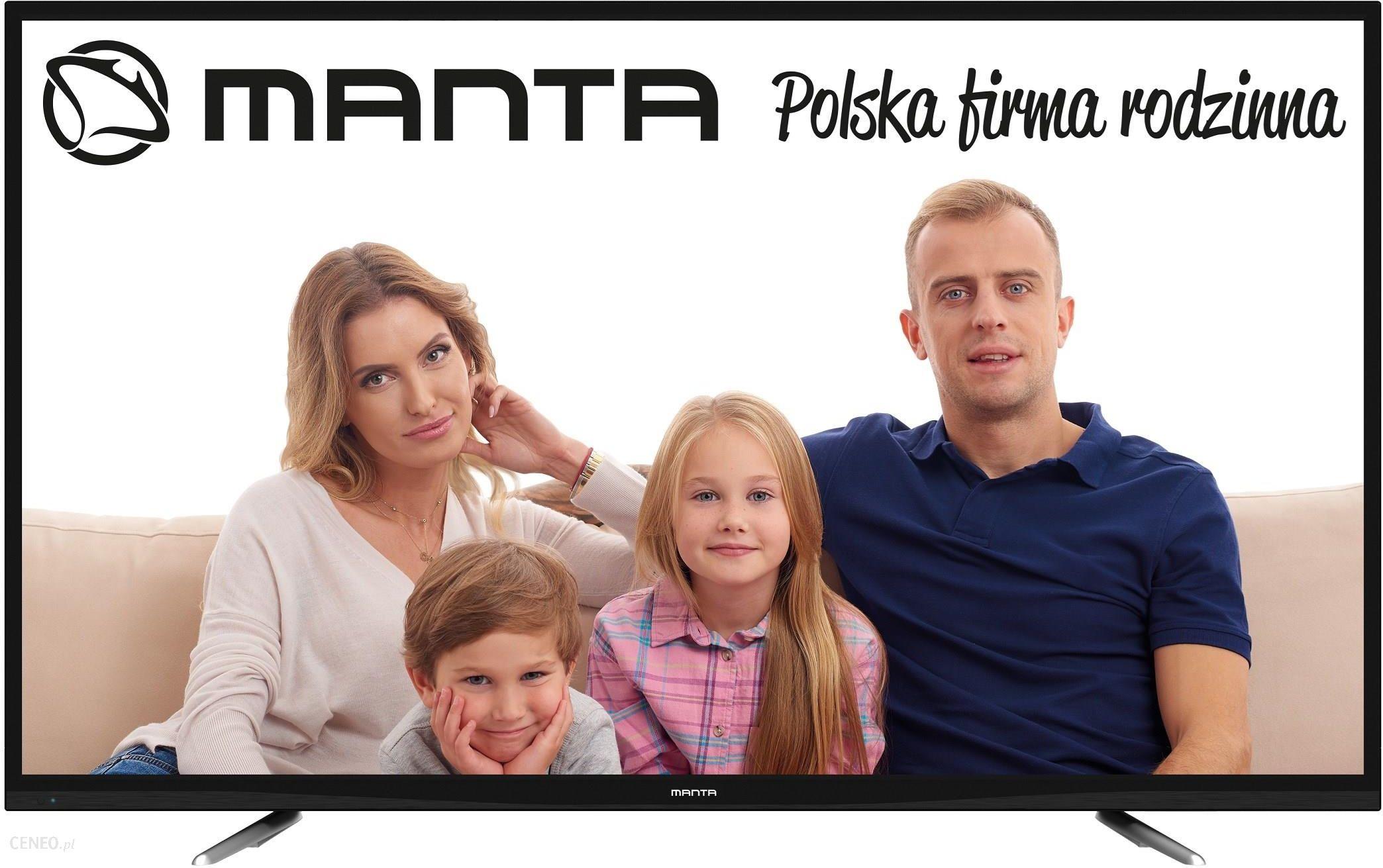 """MANTA LED94801S"" 48 colių ""Android"" imperatoriaus televizorius"