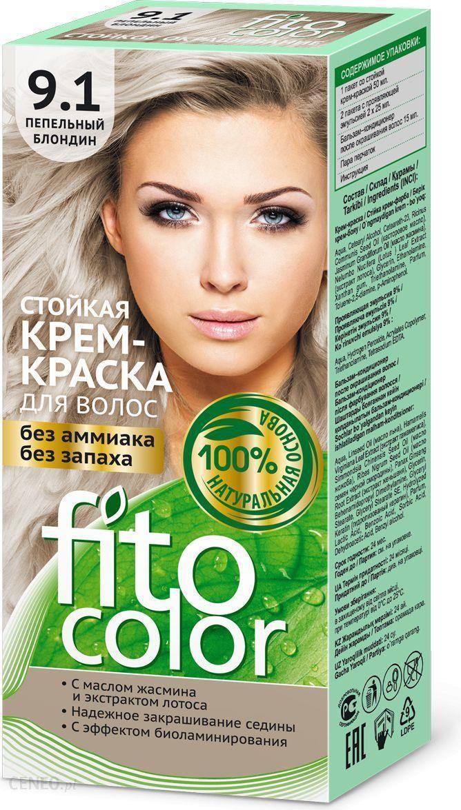 Fitocosmetics Fitocolor Farba Krem Do Włosów 91 Blond Popielaty 1