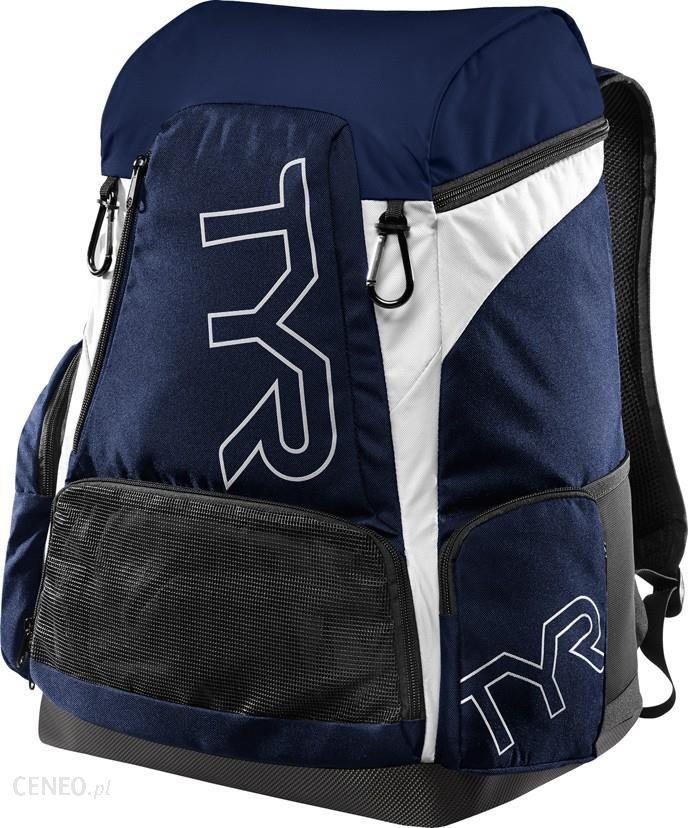 8aede100ec78cb Plecak Tyr Alliance Team Backpack 45L Plecak Treningowy Niebiesko Biały -  zdjęcie 1