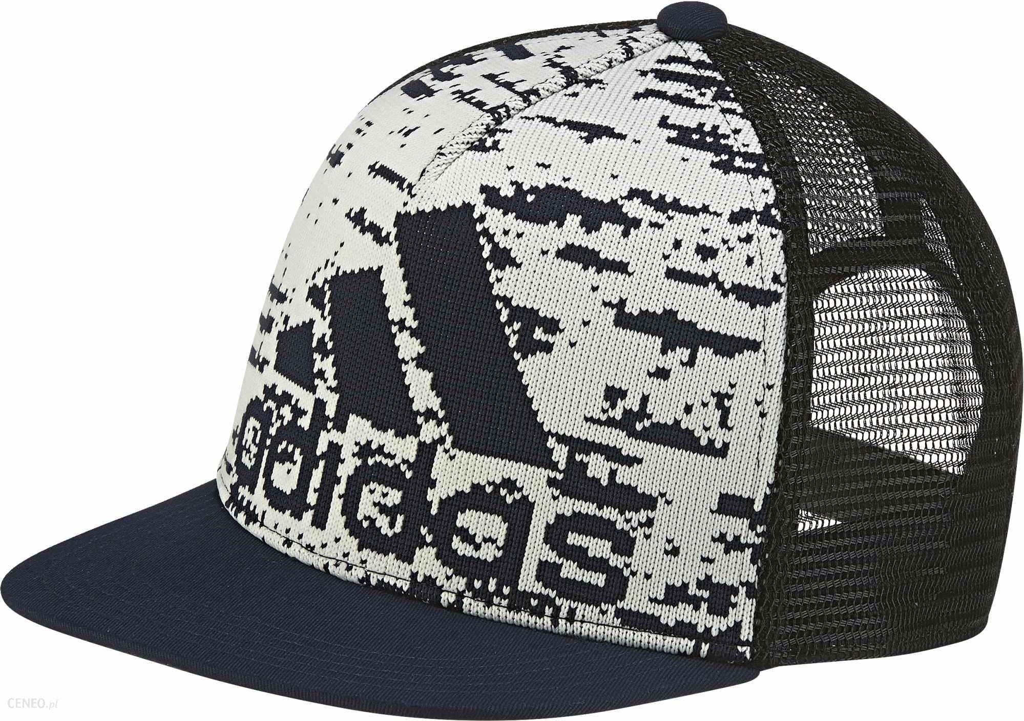 2061c9631854b7 Adidas czapka z daszkiem Ya Pr K Cap B Off White/Collegiate Navy/Black