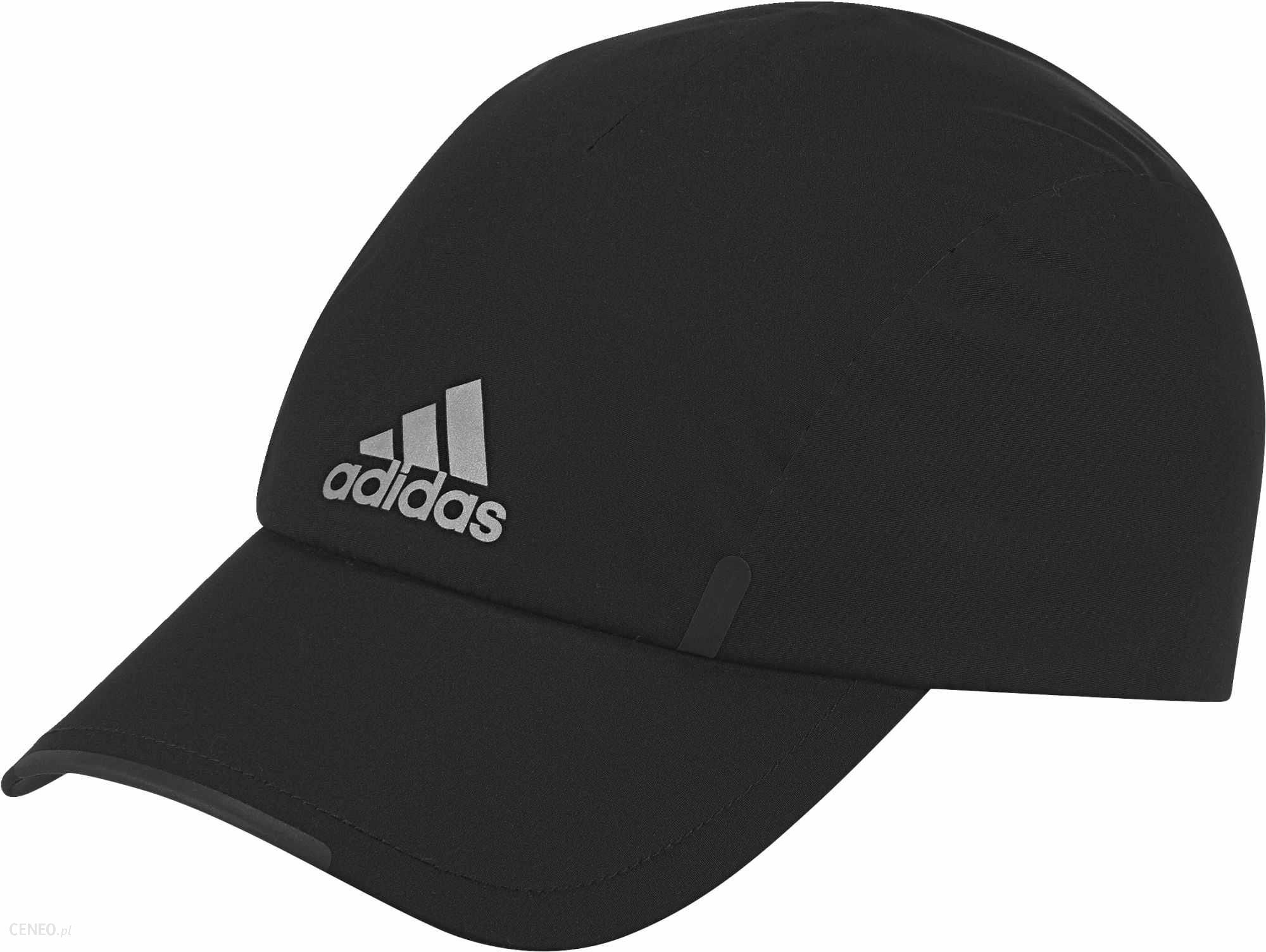 5dd3abae40ed1 Adidas czapka z daszkiem Run Clmpr Cap Black Black Reflective Reflective  Silver Osfm -