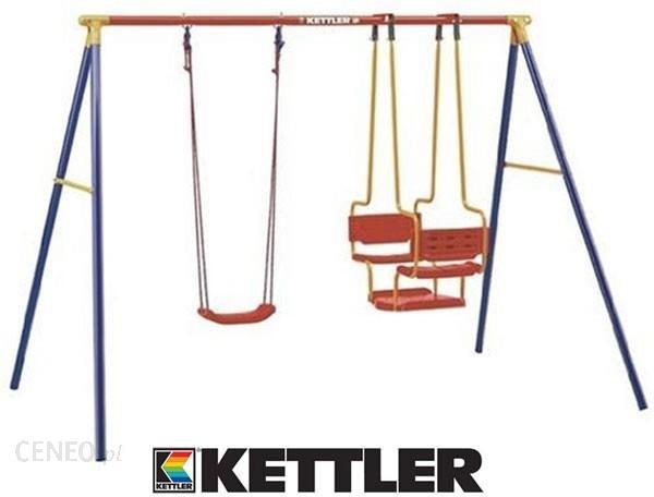 Kettler Huśtawka Plac Zabaw Metalowy Gondola Deska 8396460