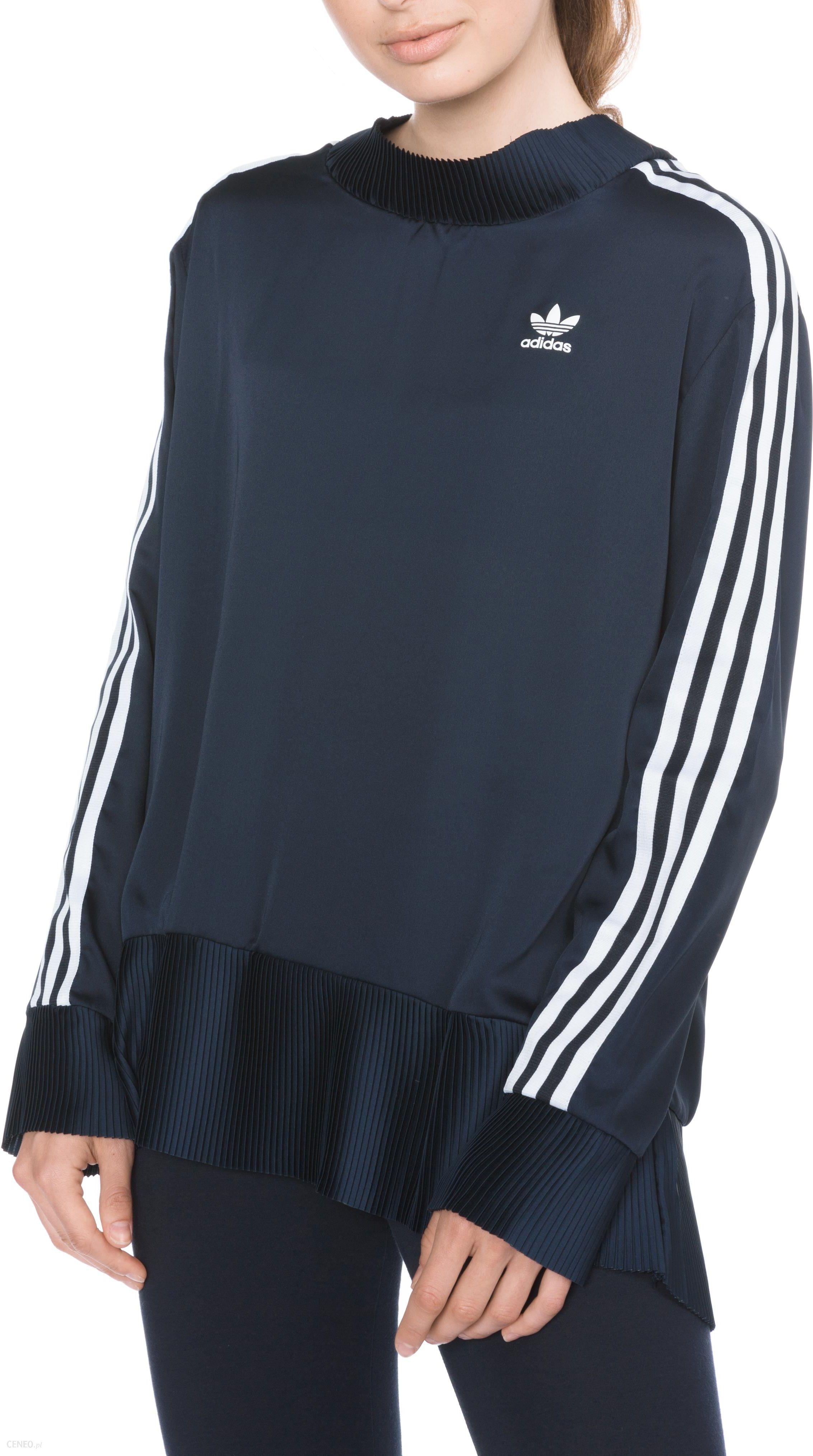 Bluza męska adidas Originals 3 Stripes DV1554 | NIEBIESKI