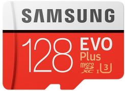 Samsung EVO PLUS MicroSDXC 128GB UHS-I U3 (MB-MC128GA/EU)