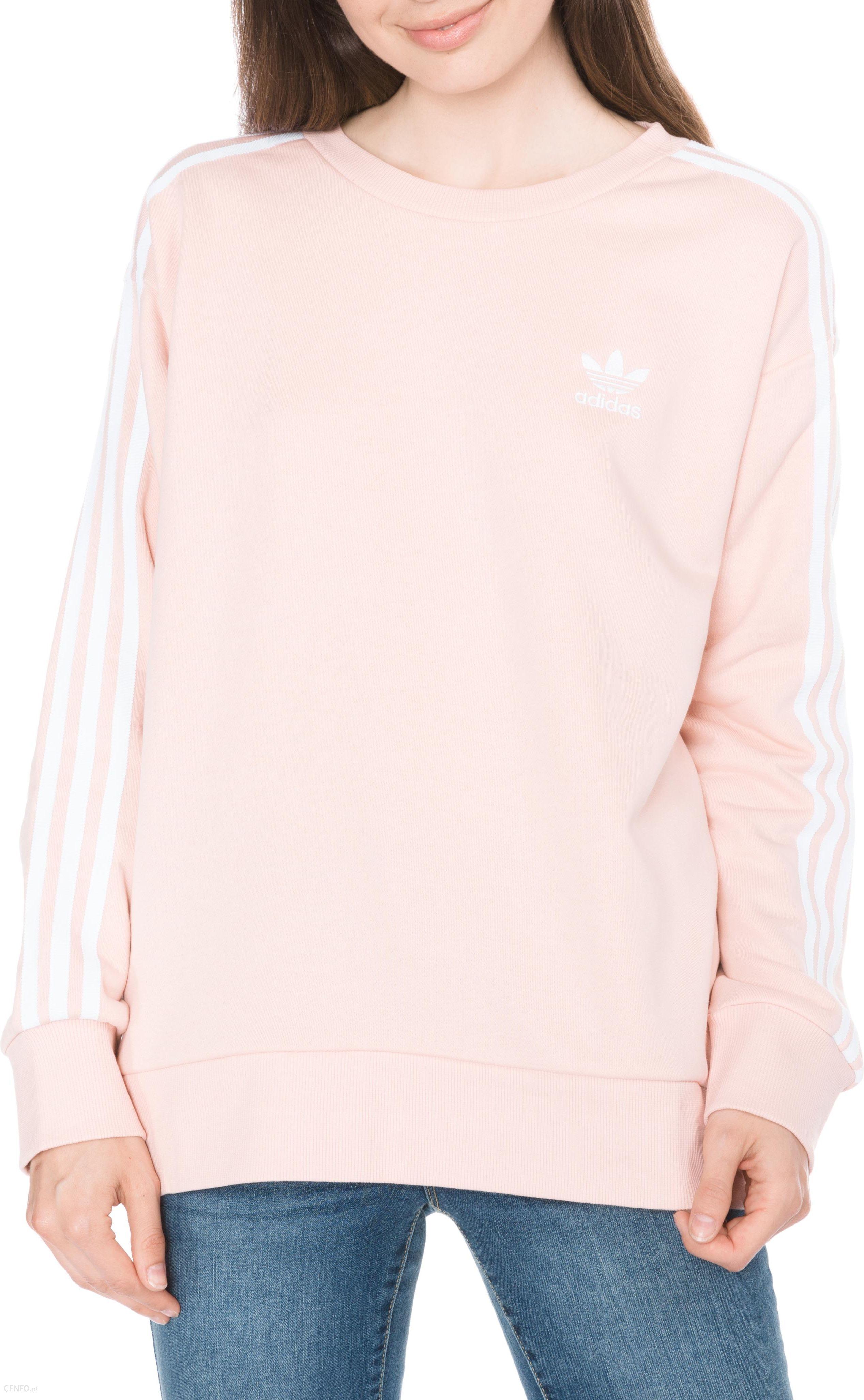 ADIDAS bluza welurowa różowa 36 S