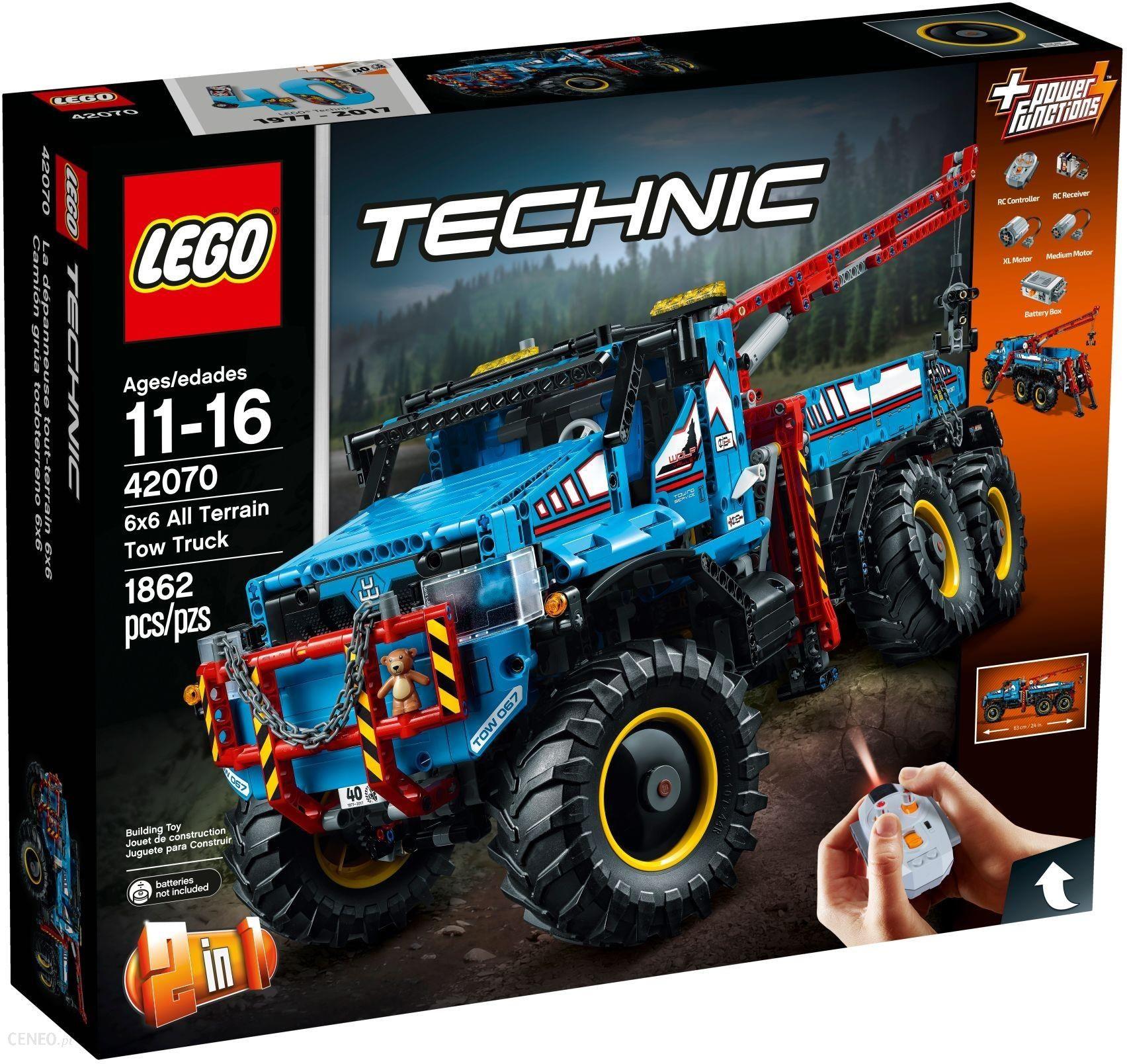 Klocki Lego Technic Terenowy Holownik 6x6 42070 Ceny I Opinie