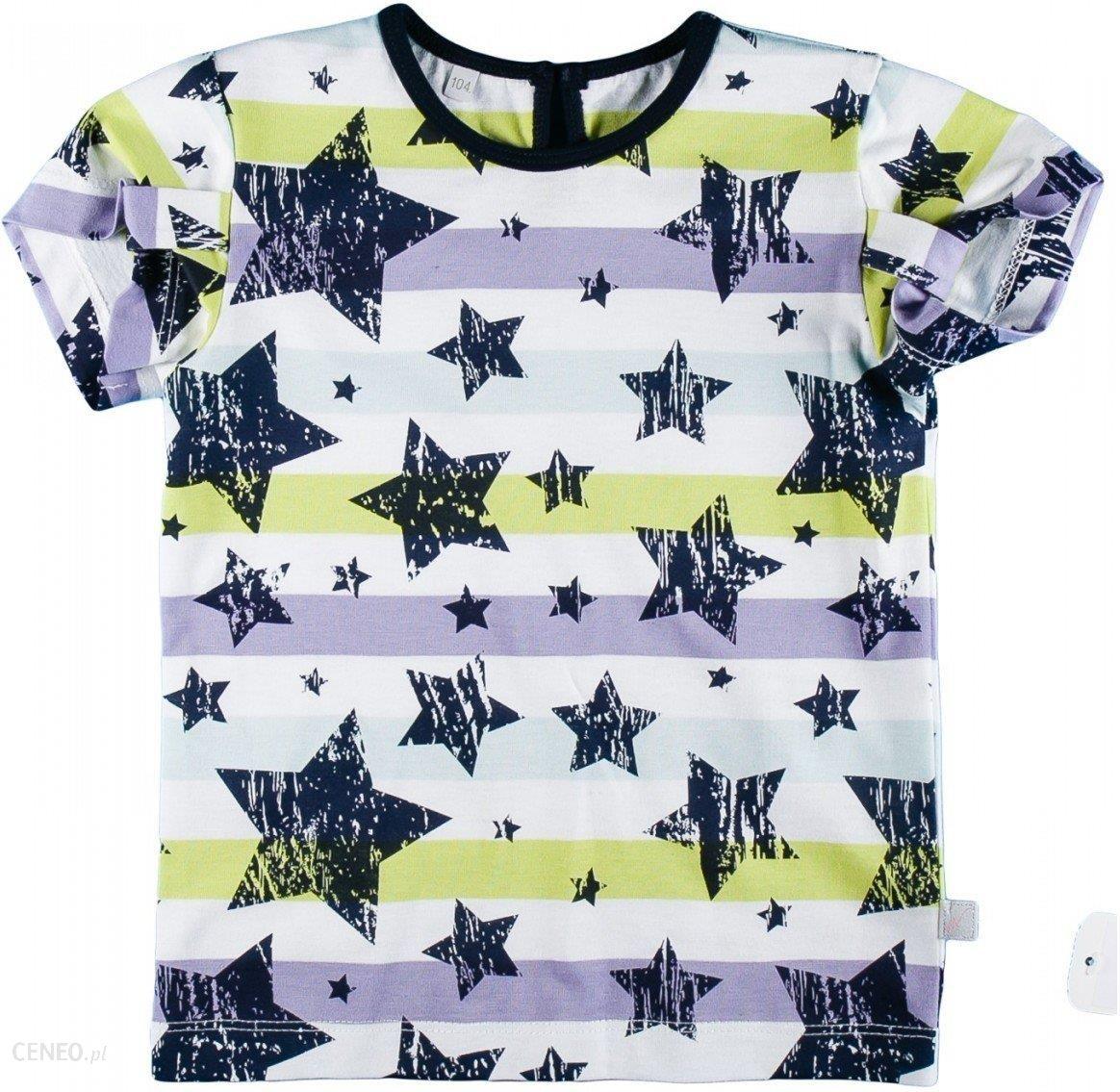 675ab65b8 Dadak, T-shirt dziewczęcy z krótkim rękawem, Gwiazdy, rozmiar 134 - zdjęcie