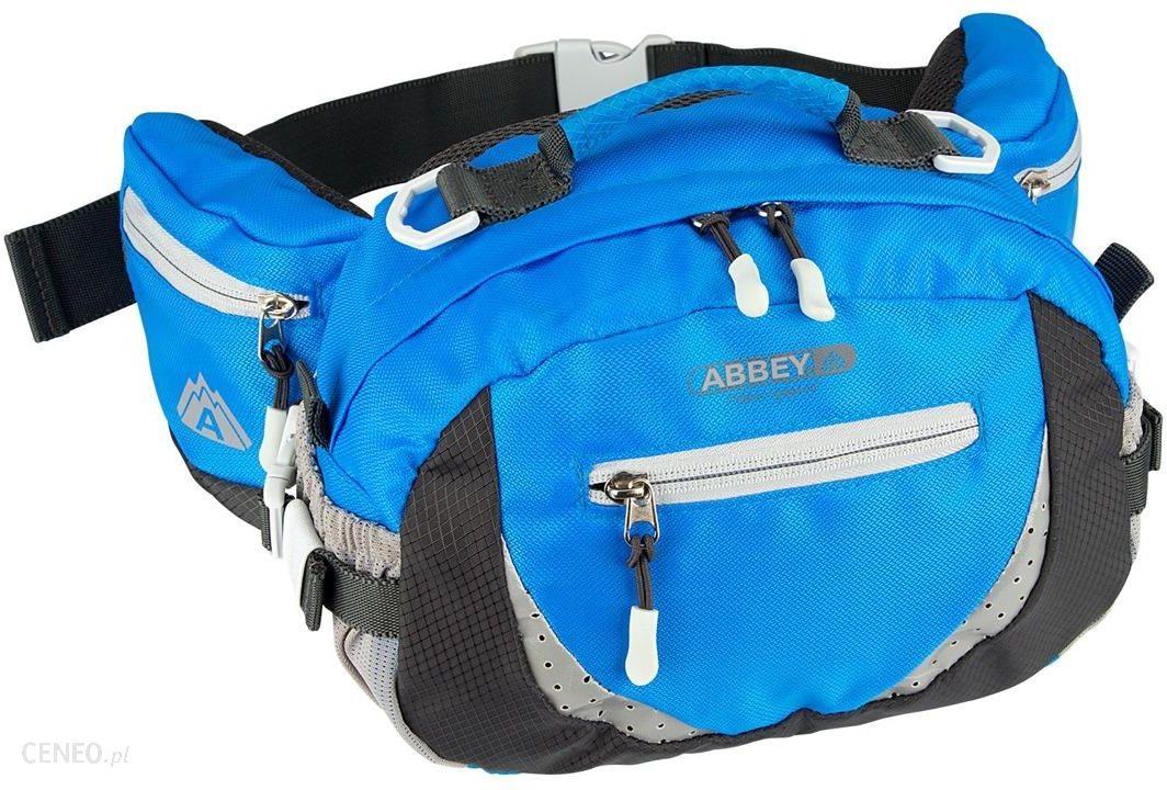 0ed9522e22f3d Saszetka biodrowa turystyczna 6L Abbey - Odcienie niebieskiego - zdjęcie 1