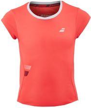 f4abda7886 Babolat Koszulka dziewczęca T-shirt Flag Core Girl fluo strike 3GS17011201