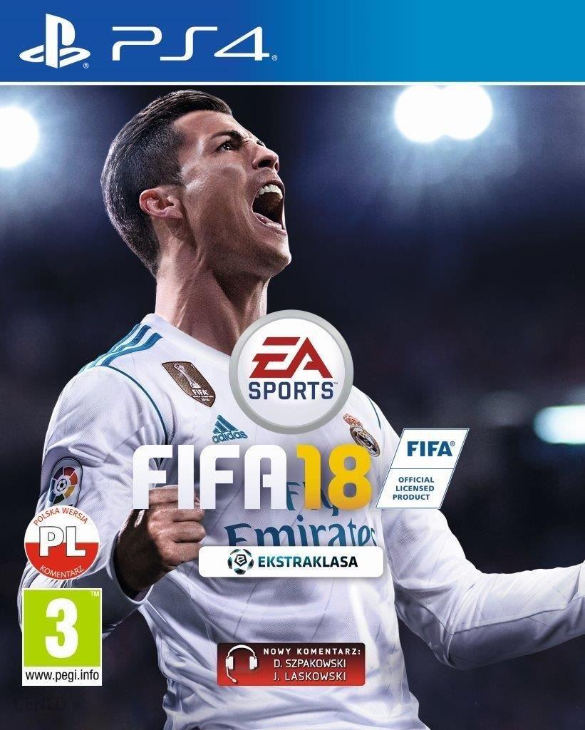 Fifa 18 Edycja Standardowa Gra Ps4 Ceny I Opinie Ceneo Pl
