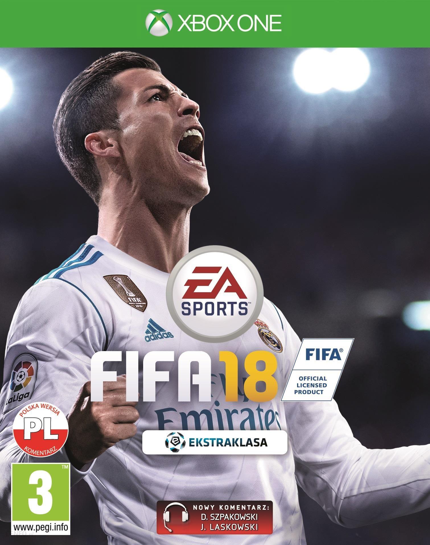 Fifa 18 Edycja Standardowa Gra Xbox One Od 39 99 Zl Ceny I Opinie Ceneo Pl