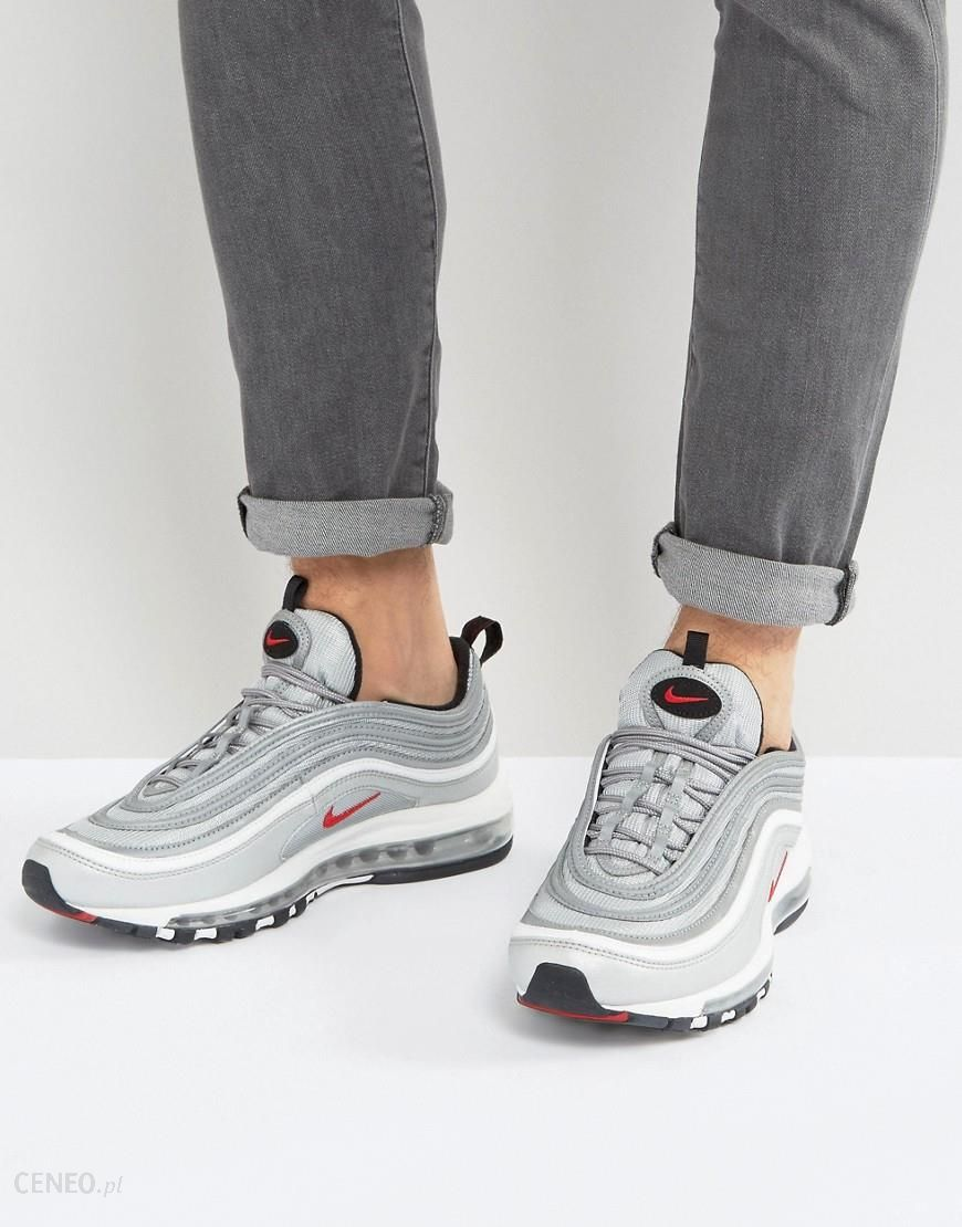 Nike Air Max 97 Trainers In Silver Silver Ceneo.pl