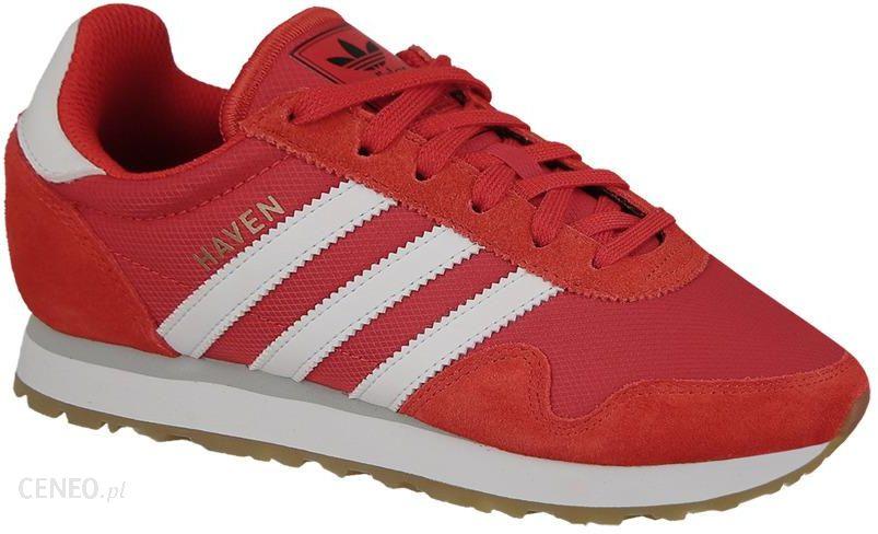 adidas haven damskie czerwone
